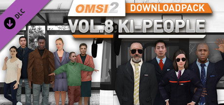 OMSI 2 Add-on Downloadpack Vol. 8 – KI-Menschen