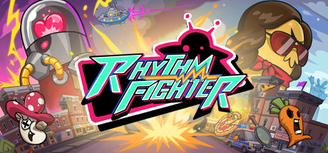 Rhythm Fighter Capa