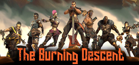 THE BURNING DESCENT Image