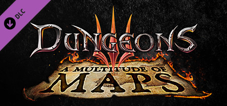 Dungeons 3  A Multitude of Maps Capa