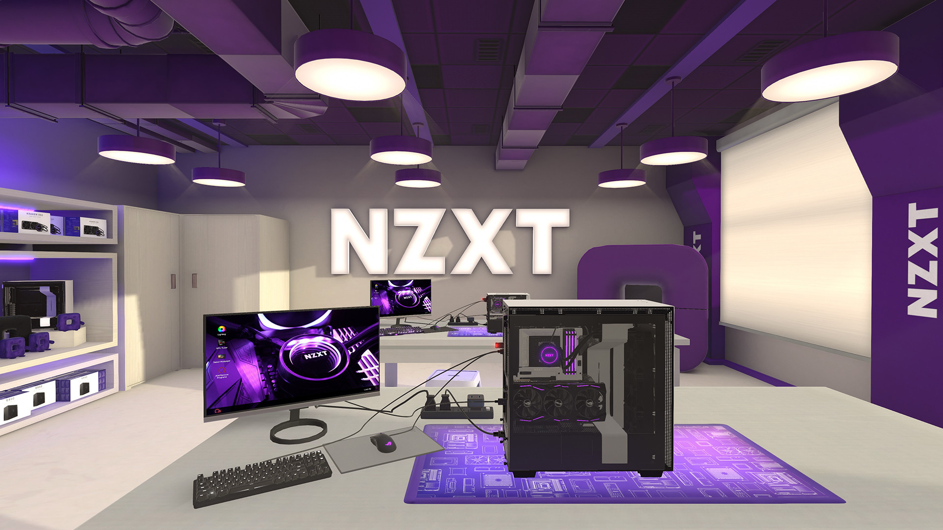 Pc Building Simulator Nzxt Workshop On Steam
