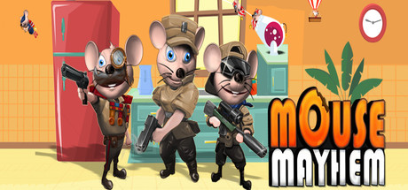 Mouse Mayhem Shooting & Racing cover art