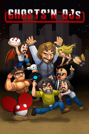 Ghosts'n DJs poster image on Steam Backlog