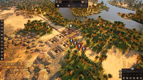 Screenshot of Builders of Egypt: Prologue