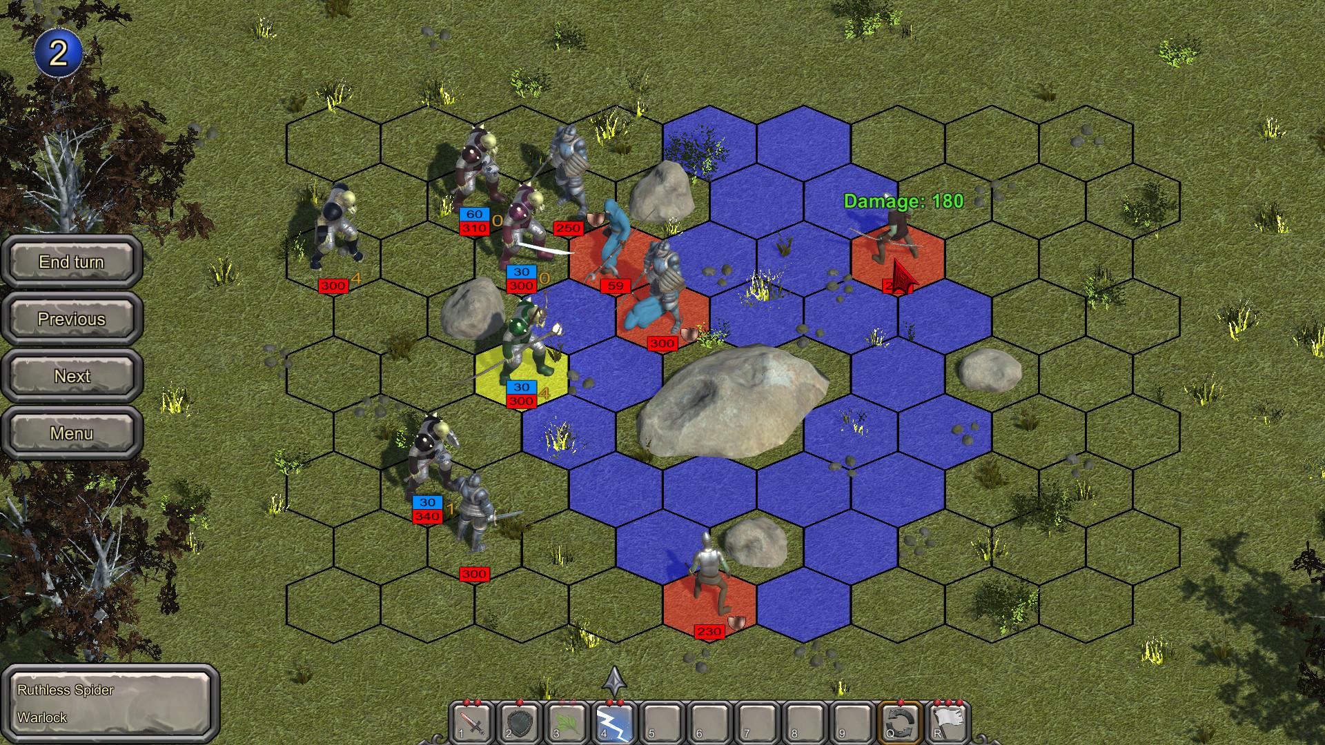 Defense and Revenge screenshot