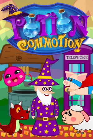 Potion Commotion poster image on Steam Backlog