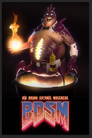 BDSM: Big Drunk Satanic Massacre Demo poster image on Steam Backlog