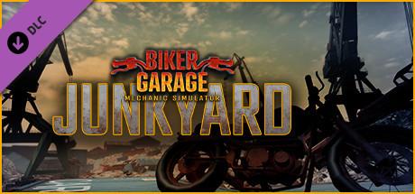 Biker Garage Mechanic Simulator – Junkyard DLC Capa