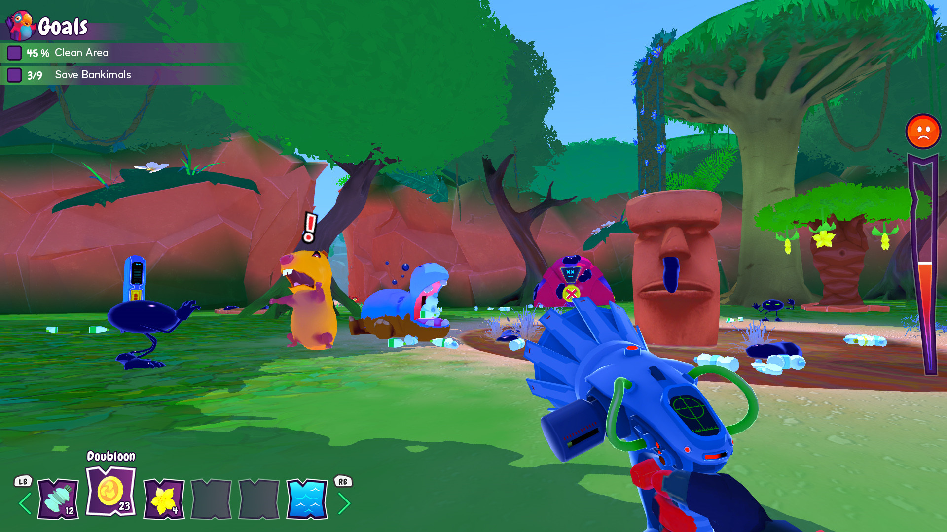 Island Saver Screenshot 2
