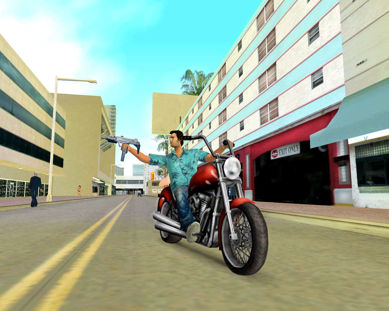 Free Download Grand Theft Auto: Vice City - 1.4 GB