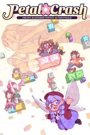 Petal Crash poster image on Steam Backlog