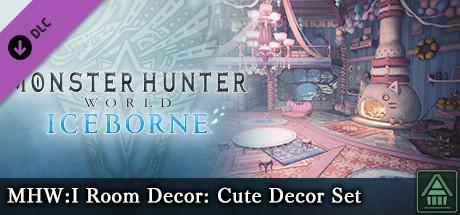 Monster Hunter World: Iceborne - MHW:I Room Decor: Cute Decor Set