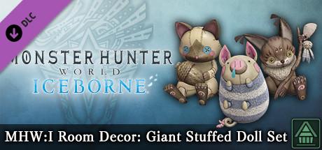 Monster Hunter World: Iceborne - MHW:I Room Decor: Giant Stuffed Doll Set