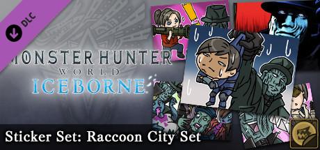 Monster Hunter: World - Sticker Set: Raccoon City Set