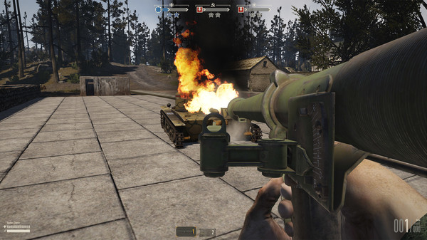 скриншот Heroes & Generals - US Antitank 1