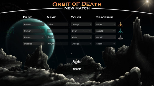 Orbit of Death