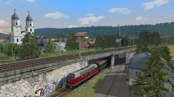 скриншот Train Simulator: Im Köblitzer Bergland Route Add-On 0