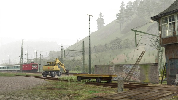 скриншот Train Simulator: Im Köblitzer Bergland Route Add-On 1