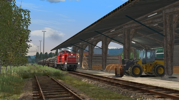 скриншот Train Simulator: Im Köblitzer Bergland Route Add-On 5