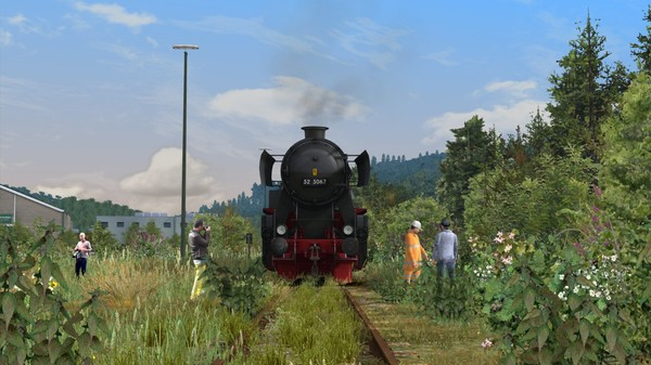 скриншот Train Simulator: Im Köblitzer Bergland Route Add-On 4