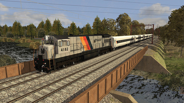 Train Simulator: NJ TRANSIT U34CH Loco Add-On