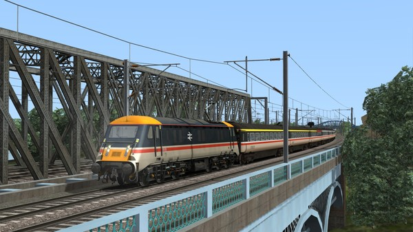 скриншот Train Simulator: InterCity BR Class 89 'Badger' Loco Add-On 5