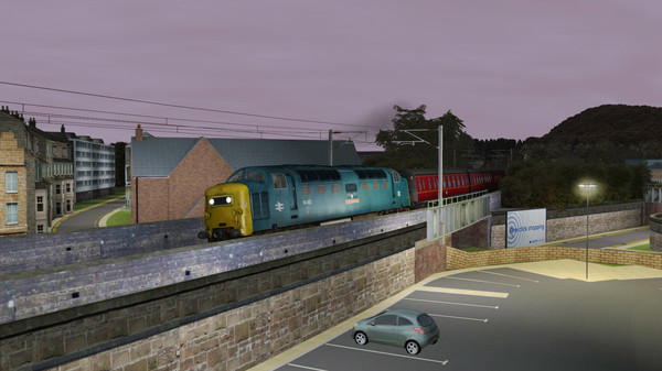 скриншот Train Simulator: ECML North: Newcastle - Edinburgh Route Add-On 5