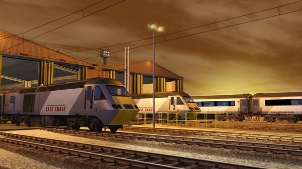 скриншот Train Simulator: ECML North: Newcastle - Edinburgh Route Add-On 1