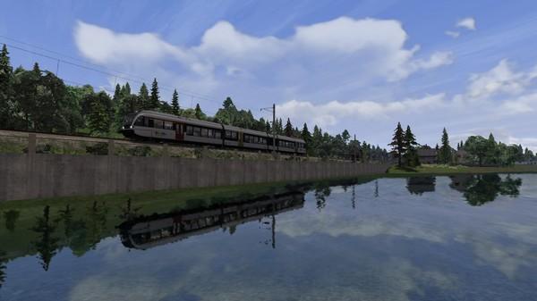 скриншот Train Simulator: Lake Constance: Schaffhausen – Kreuzlingen Route Add-On 1