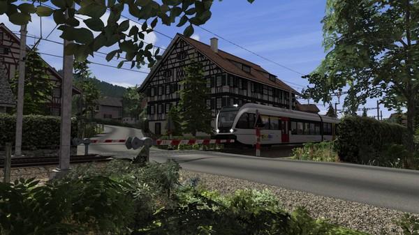 скриншот Train Simulator: Lake Constance: Schaffhausen – Kreuzlingen Route Add-On 5