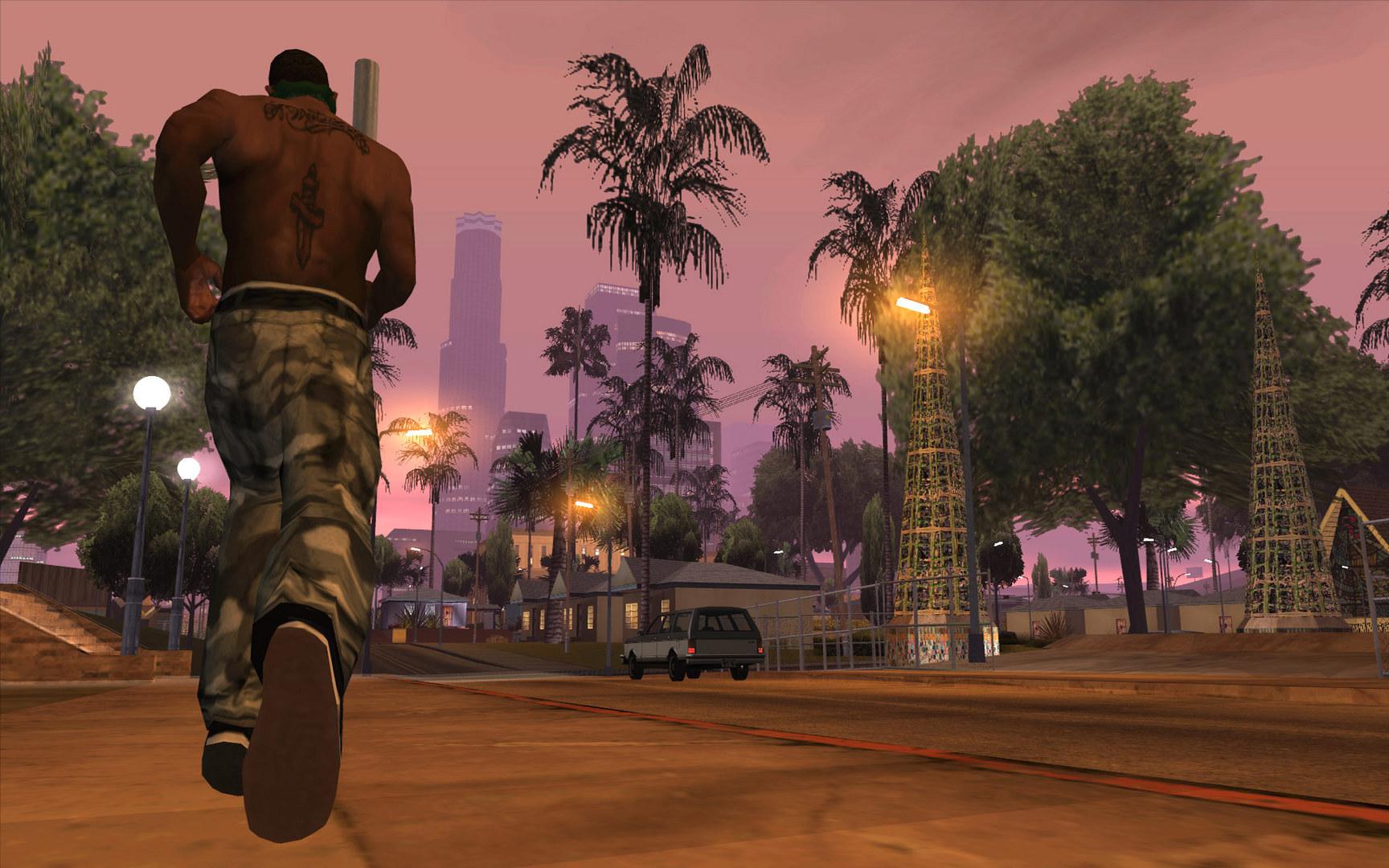 Grand Theft Auto: San Andreas - 3 GB