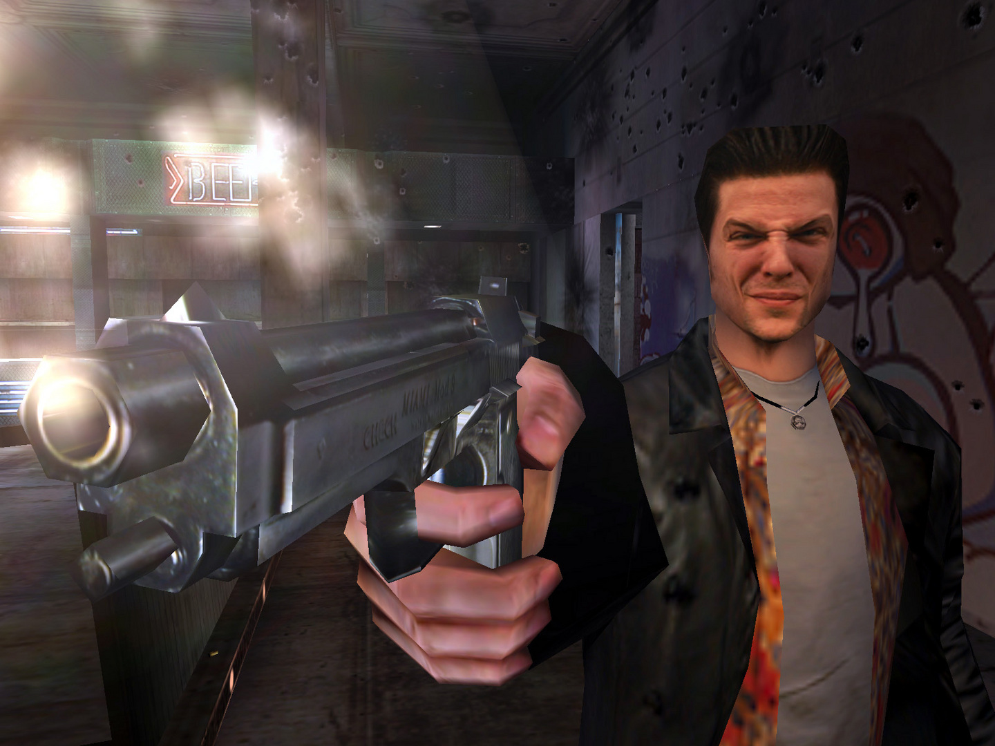 Max Payne How Writer Sam Lake S Face Came To Define One Of The