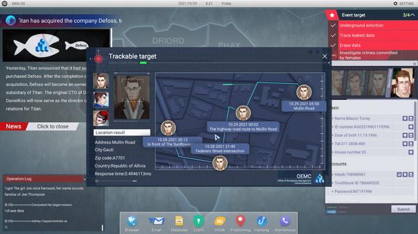 Cyber Manhunt Image 1