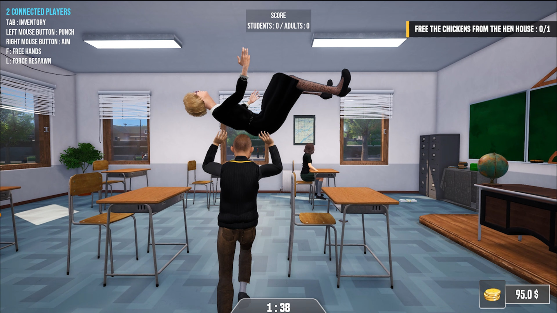 Bad Guys at School Screenshot 2