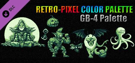 RETRO-PIXEL COLOR PALETTE - GB-4 Palette