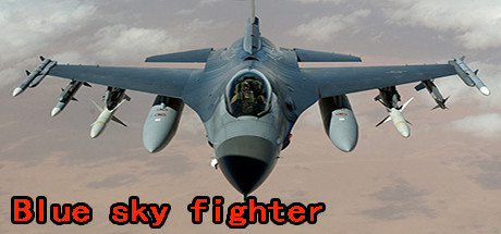 Blue sky fighter cover art