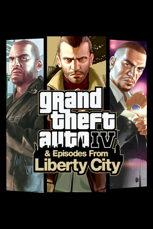 Grand Theft Auto IV: The Complete Edition poster image on Steam Backlog