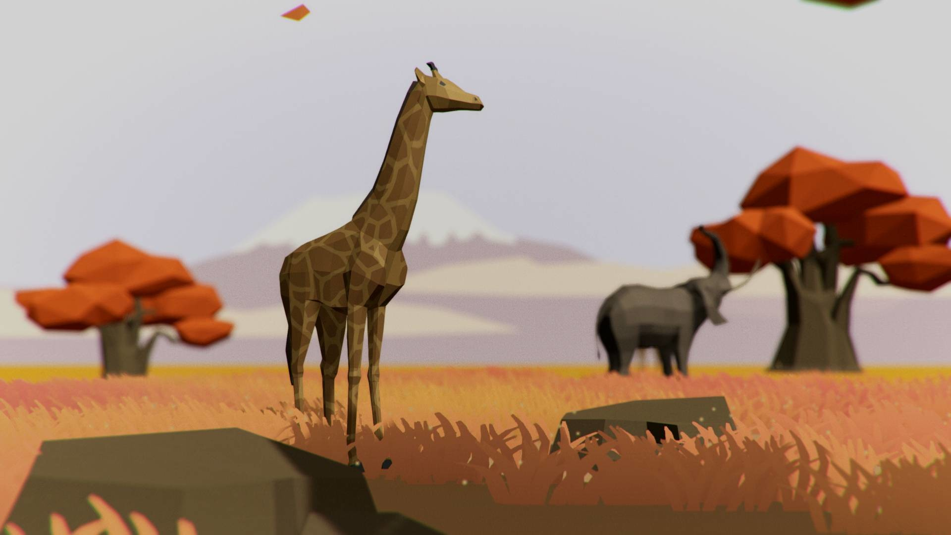 Steam Ultimate Low Poly Pet