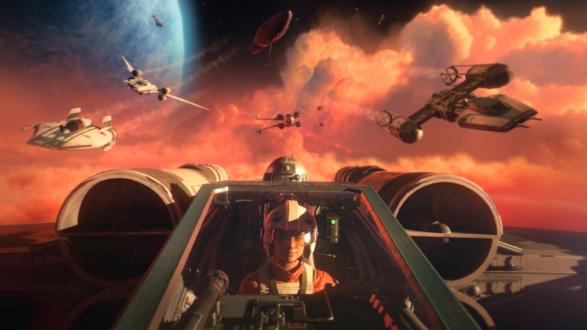Faz a pré-reserva de STAR WARS™: Squadrons no Steam