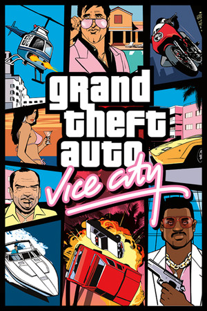Grand Theft Auto: Vice City poster image on Steam Backlog