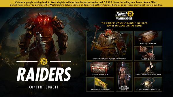 скриншот Fallout 76: Raiders Content Bundle 0