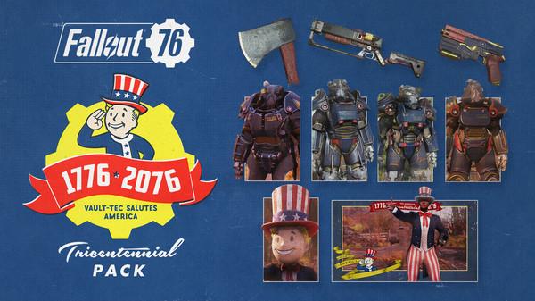 скриншот Fallout 76 Tricentennial Pack 0