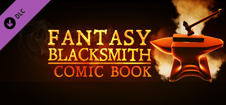 Fantasy Blacksmith Comic Book