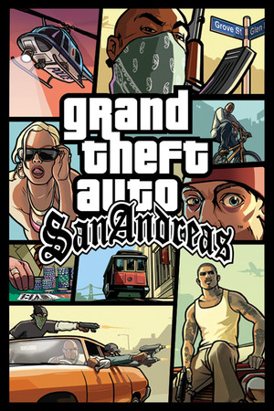 Grand Theft Auto: San Andreas poster image on Steam Backlog