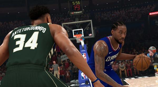 Capture d'écran n°3 du Jeu NBA 2K21