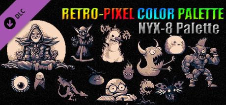 RETRO-PIXEL COLOR PALETTE - NYX-8 Palette