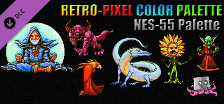 RETRO-PIXEL COLOR PALETTE - NES-55 Palette