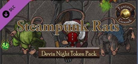 Купить Fantasy Grounds - Devin Night TP131: Steampunk Rats (DLC)