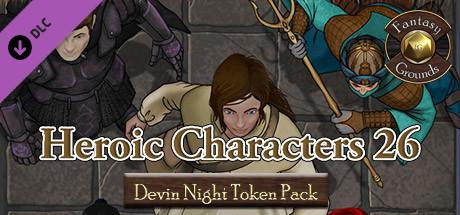 Купить Fantasy Grounds - Devin Night TP130: Heroic Characters 26 (DLC)