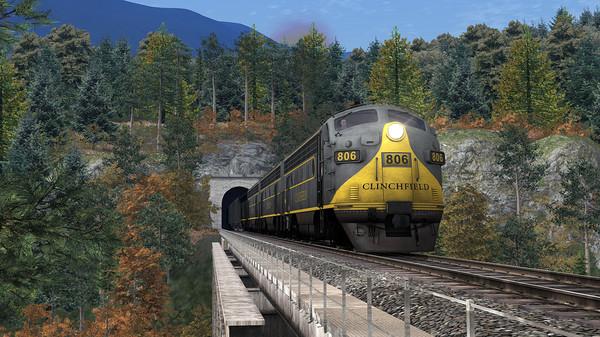 скриншот Train Simulator: Clinchfield Railroad: Elkhorn City - St. Paul Route Add-On 0